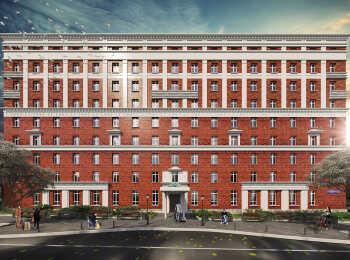 Общий вид апарт-отеля Восток